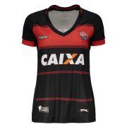 Camisa Jogo I - Feminino - Topper - 2018 - Vermelho