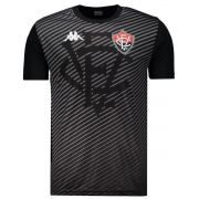 Camisa Vitória Treino Comissão - Kappa - 2019 - Preto