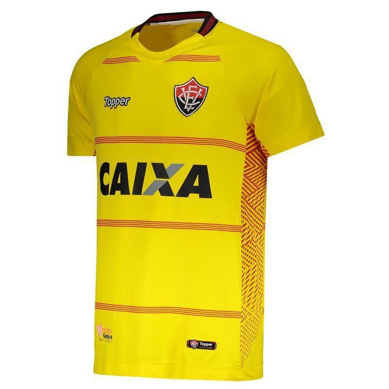 Camisa Goleiro I - Feminino - Topper - 2018  - Amarelo