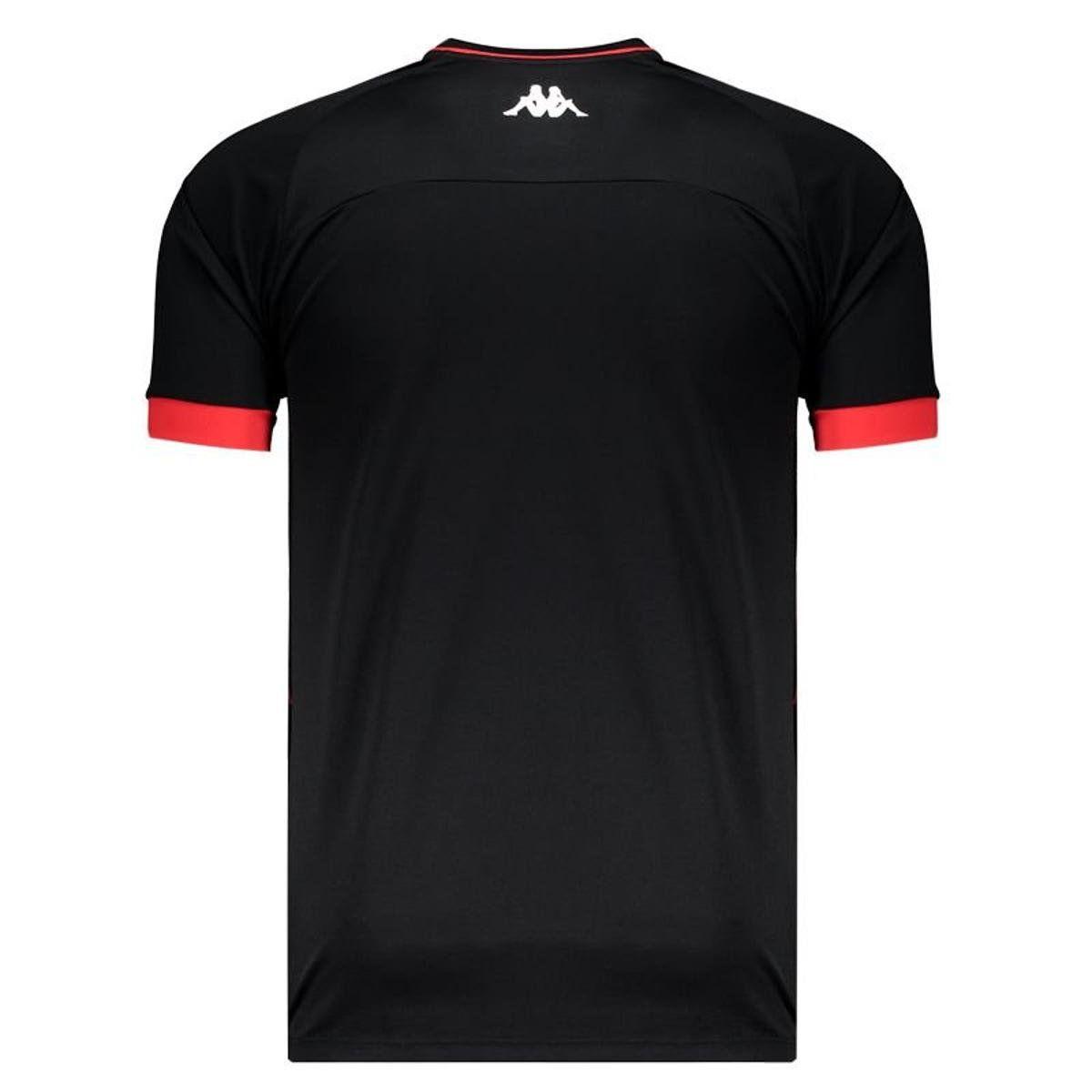 Camisa Goleiro Jogo II - Kappa - 2019 - Masculina - Preto