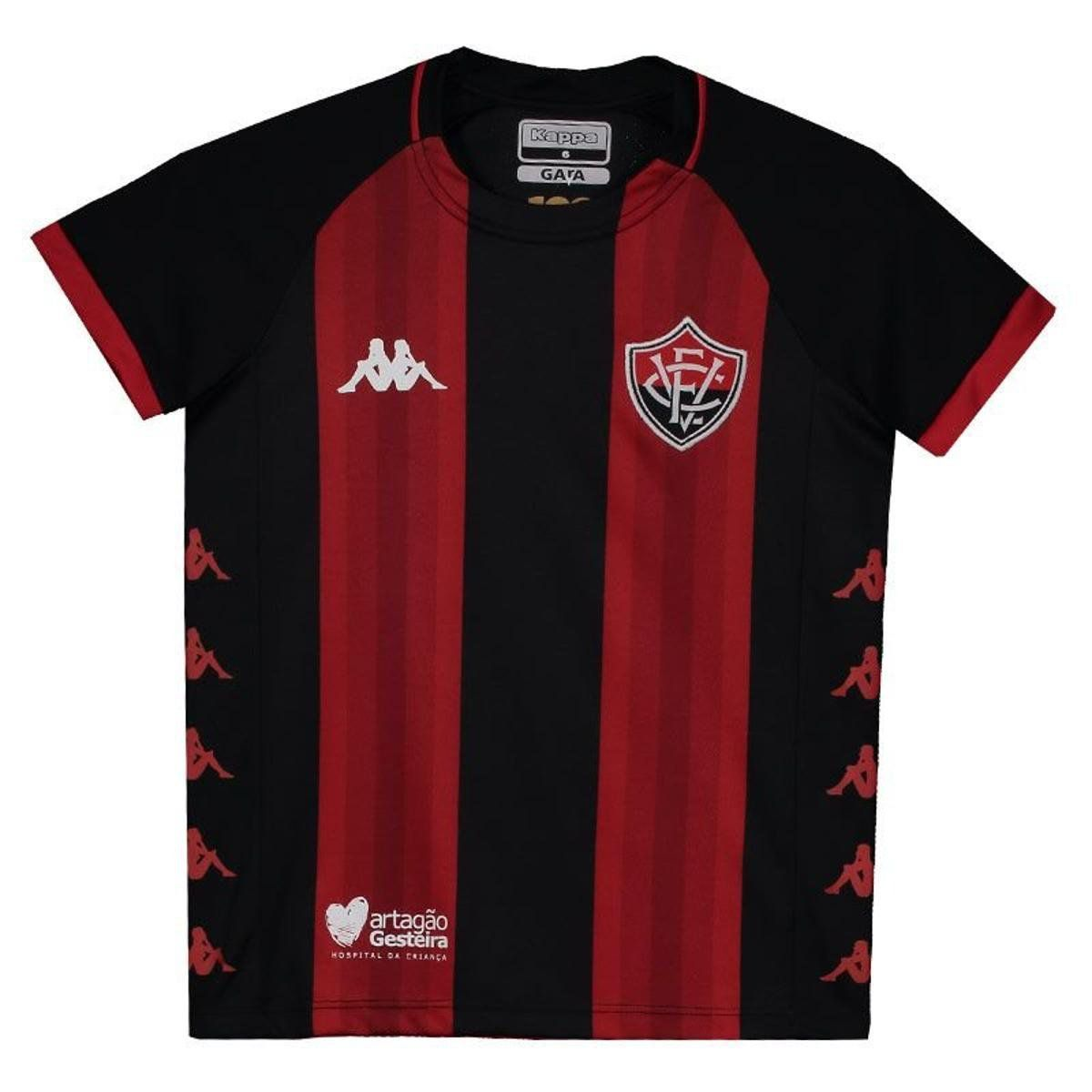 Camisa Jogo I - Infantil - Kappa - 2019 - Vermelho