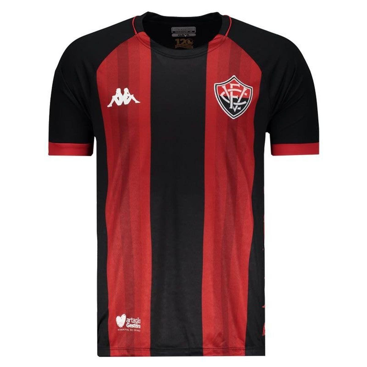 Camisa Jogo I - Kappa - 2019 - Masculina -  Vermelho