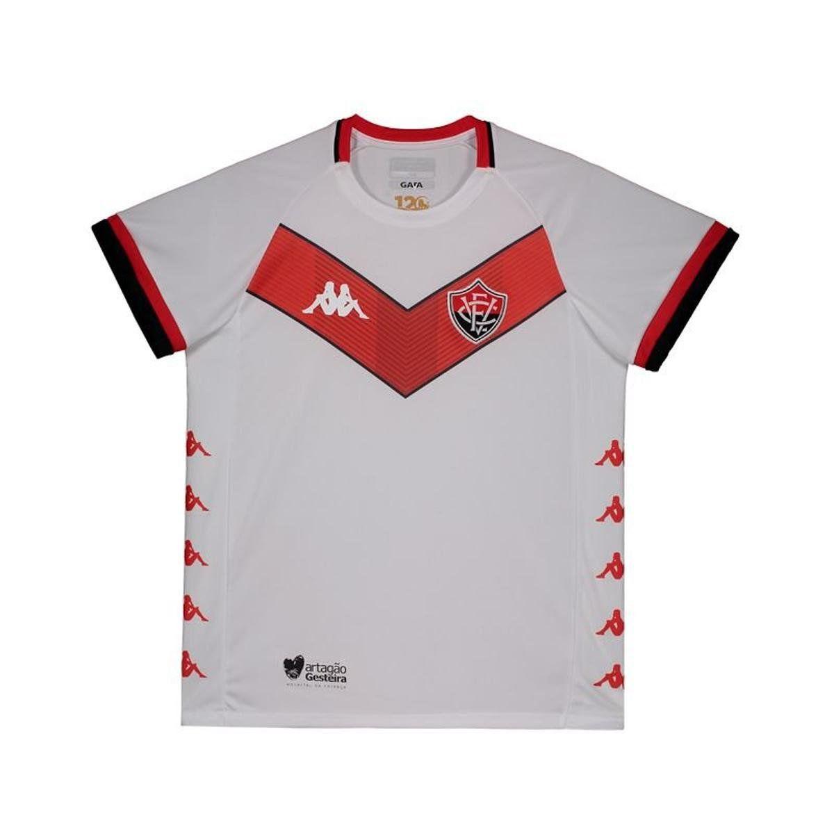 Camisa Jogo II - Infantil - Kappa - 2019 - Branco