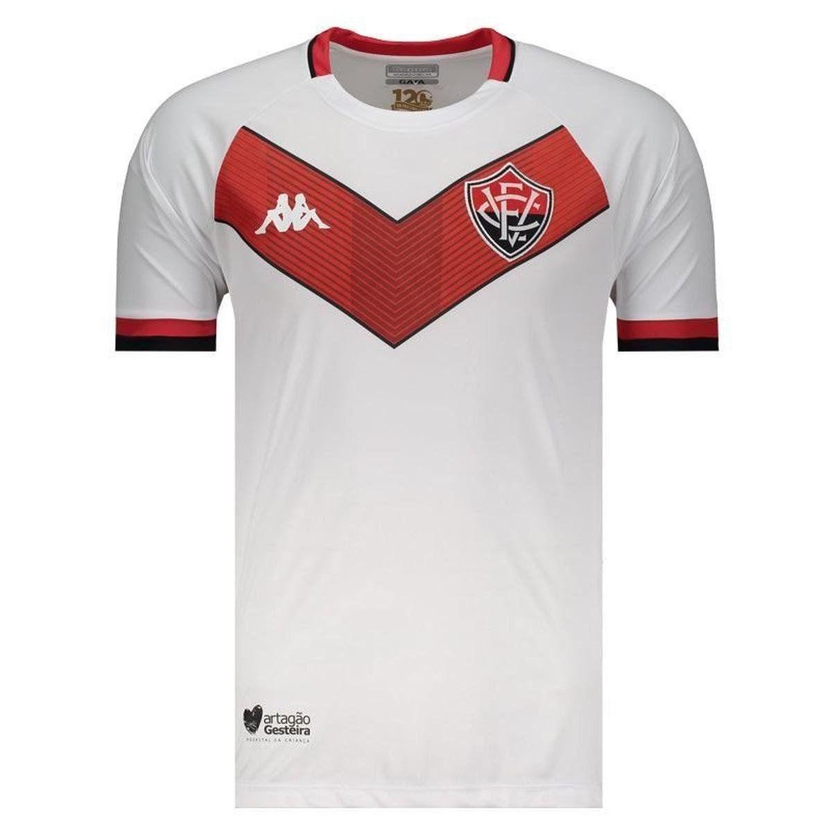 Camisa Jogo II - Kappa - 2019 - Masculina - Branco