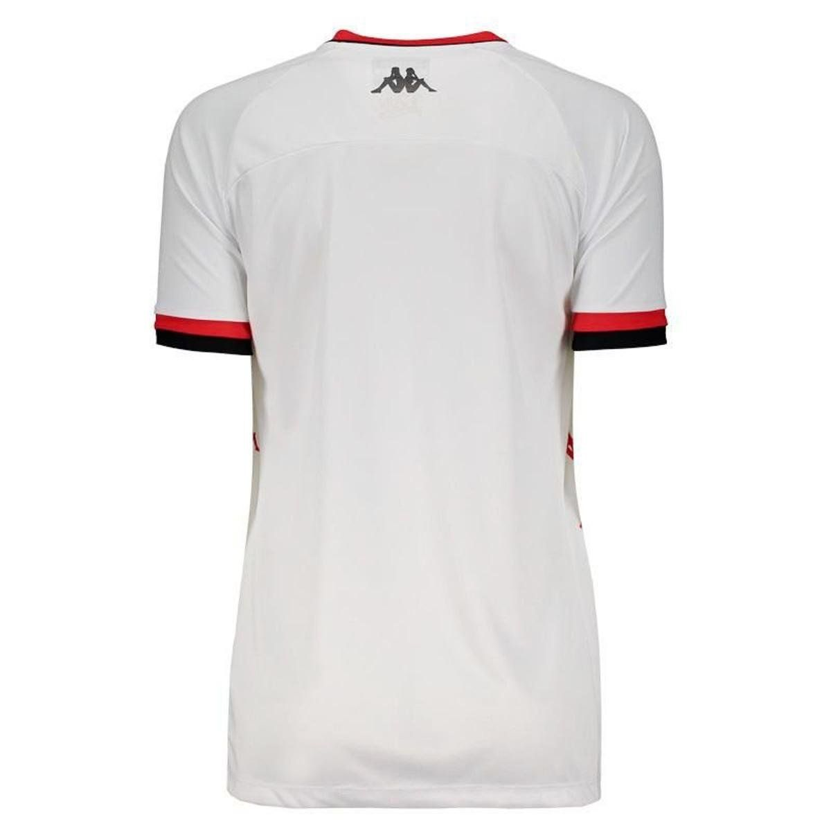 Camisa Jogo II - Kappa - 2019 - Feminino - Branco