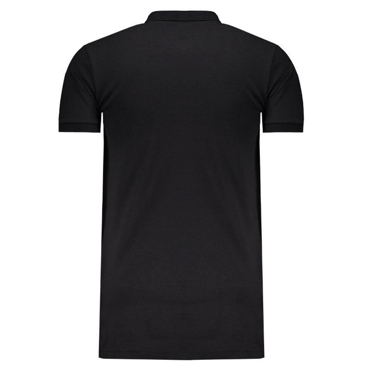 Camisa Polo Viagem Comissão - Kappa - 2019 - Masculina - Preto