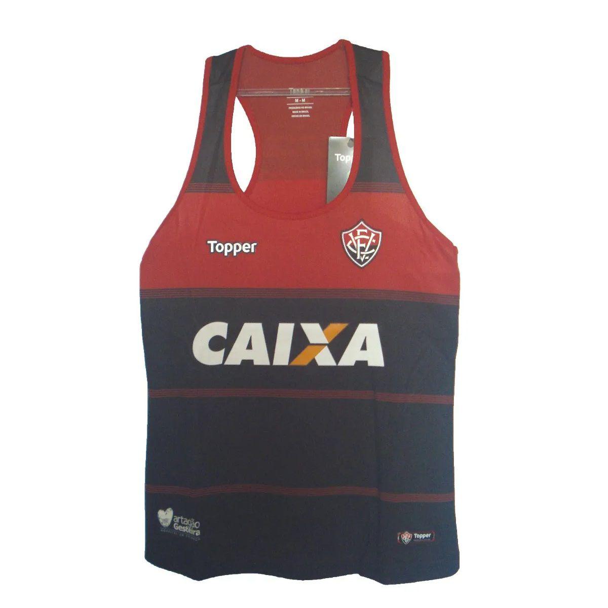 Camisa Regata - Feminino - Topper - 2018 - Vermelho