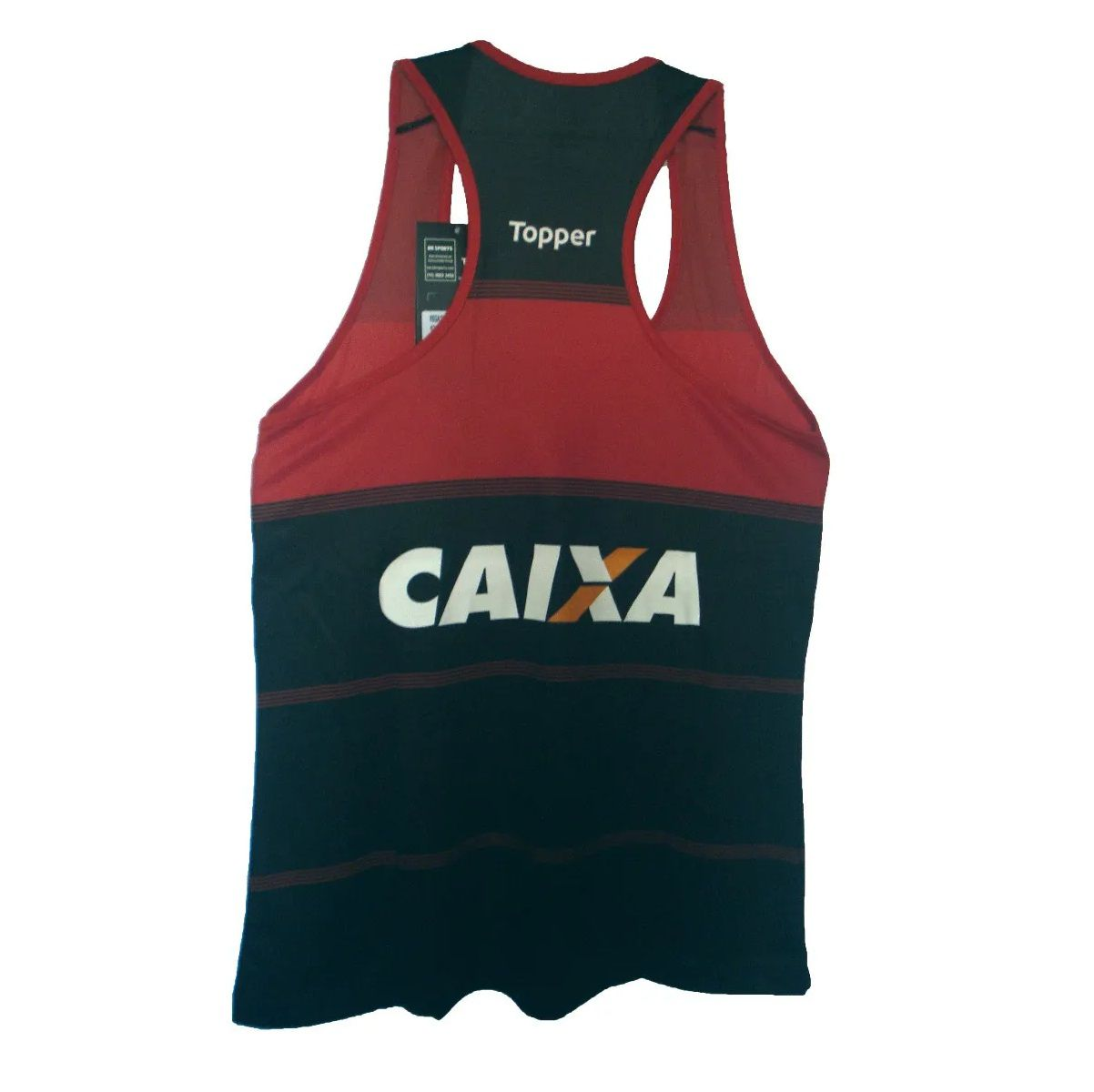 Camisa Regata - Topper - 2018 - Masculina - Vermelho