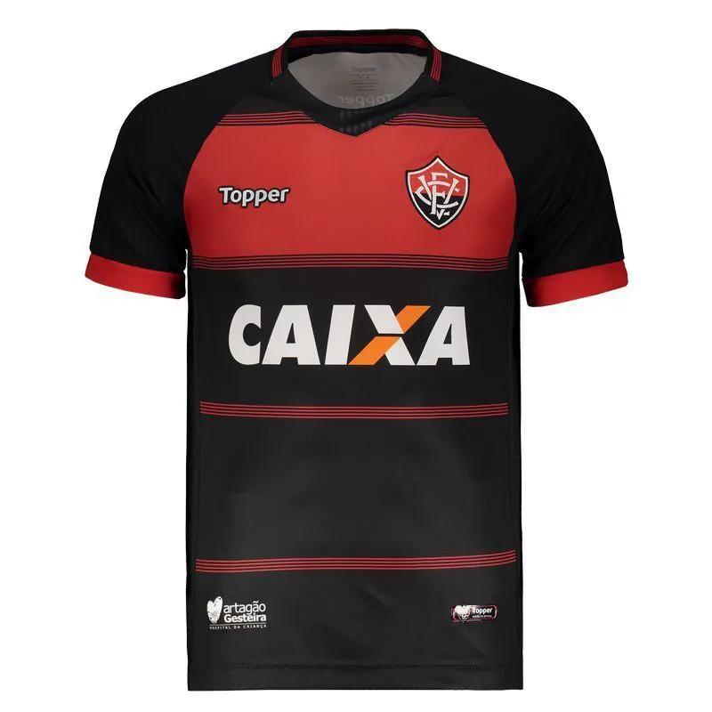 Camisa Jogo I - Topper - 2018 - Masculina - Vermelho