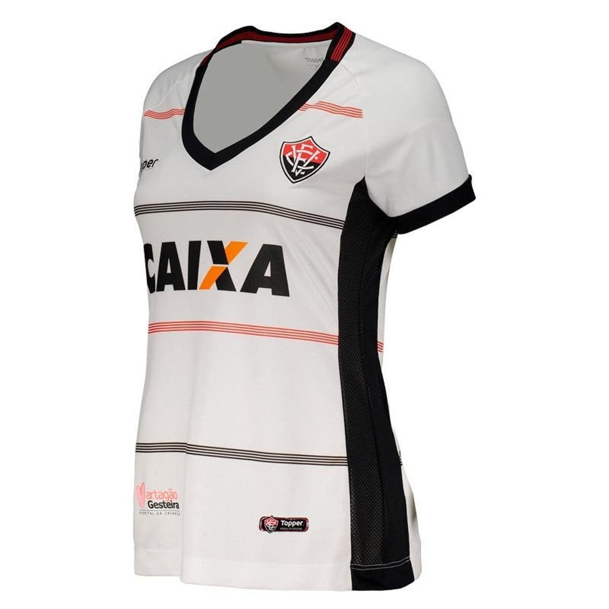 Camisa Jogo II - Feminino - Topper - 2018 - Branco