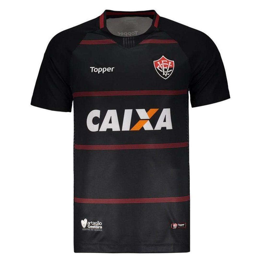 Camisa Goleiro Jogo II - Topper - 2018 - Masculina - Preto