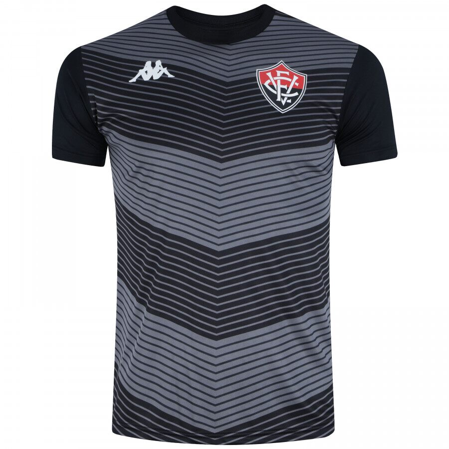 Camisa Treino Goleiro - Kappa - 2019 - Masculina - Preto