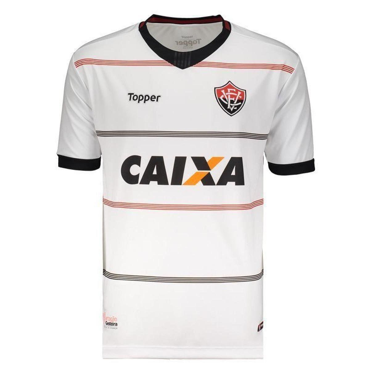 Camisa Jogo II - Infantil - Topper - 2018 - Branco