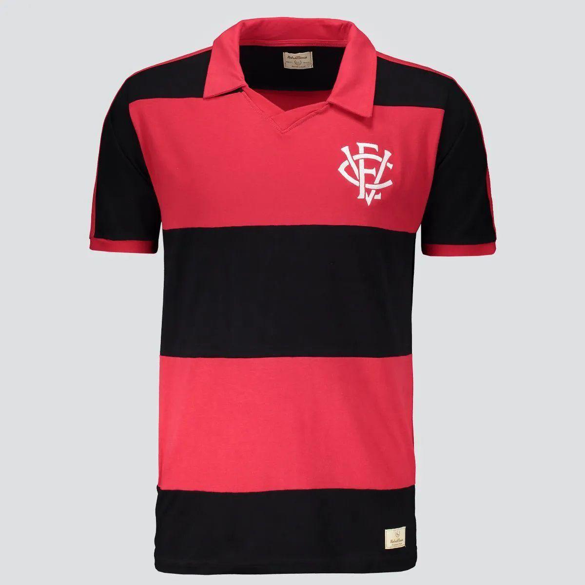 Camisa Vitória Retrô 1990 - Infantil - Vermelho