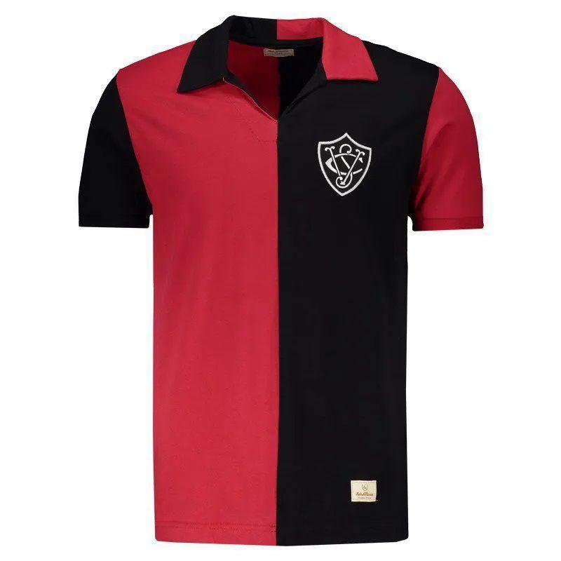 Camiseta Vitória Retrô 1908 - Vermelho