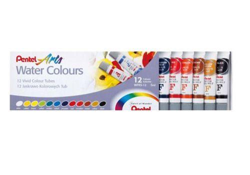 Aquarela Pentel 5ml Water Colours C/ 12 Cores