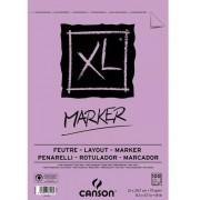 Bloco Canson Papel Desenho Xl Marker A4 Canson 70/m2 100fls