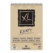 Bloco Desenho Xl Papel Kraft A4 Canson 90g/m2 C/60fls