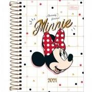 Agenda Minnie 2021 Espiral 176fls. 64g Tilibra 129mmx187mm