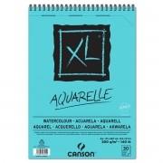 Bloco Aquarela Papel XL Aquarelle A4 Canson 300g/m2 C/30fls