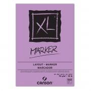 Bloco Canson Papel Desenho Xl Marker A3 Canson 70/m2 100fls