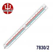 Escalímetro Triangular 7830/2 Trident 30cm