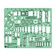 Gabarito Eletro Eletrônica Mod. E-28 - Trident