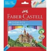 Lápis De Cor 48 Cores Faber Castell Ecolápis