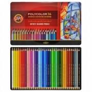Lápis De Cor Artístico Polycolor 36 Cores Koh-I-Noor 3825
