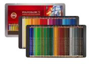 Lápis De Cor Artístico Polycolor 72 Cores Koh-i-noor 3827