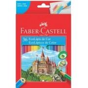 Lapis De Cor Faber-Castell 36 Cores Ecolápis
