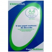 Papel Sulfite Executive Branco A4 75g - 500 folhas