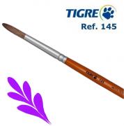 Pincel Redondo Pêlo de Marta Tropical Ref. 145 Tigre