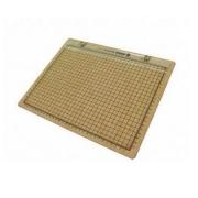 Prancheta Portátil Para Desenho Quadriculada A4 33,5x25,5cm - Trident
