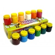Tinta Guache 12 cores com 15ml cada Acrilex