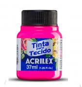 Tinta Para Tecido Fluorescente 37ml Acrilex