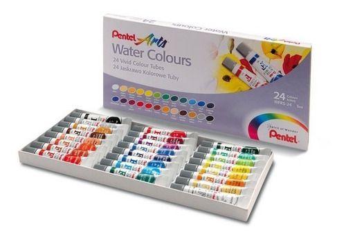 Aquarela Pentel 5ml Water Colours C/ 24 Cores
