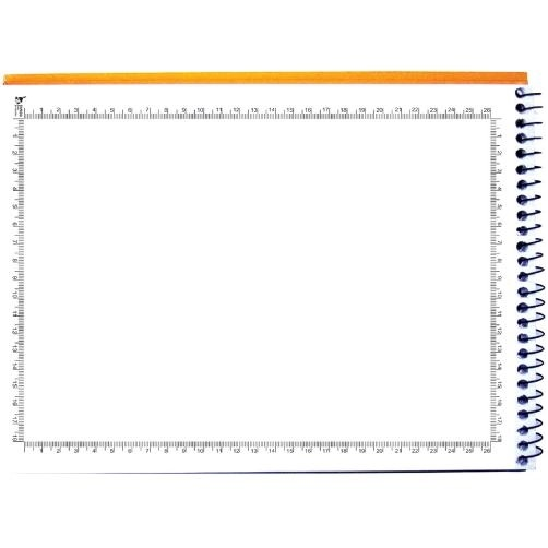 Caderno de Desenho e Cartografia Milimetrado Capa Dura 96fls 275mmx200mm Foroni