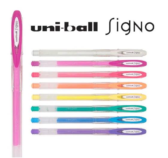 Caneta Gel Uni-ball Signo Angelic Color - 1 Unidade