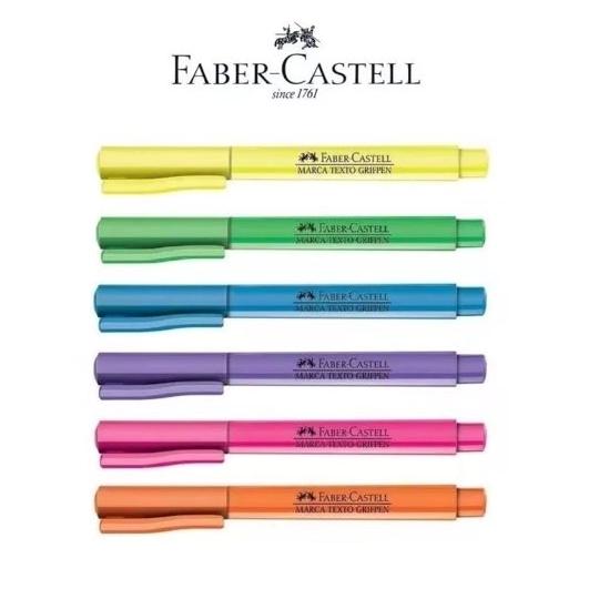 Caneta Marca-Texto Grifpen Faber-Castell - 1 Unidade