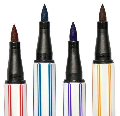 Caneta Stabilo Pen 68 Brush Kit C/6 Cores