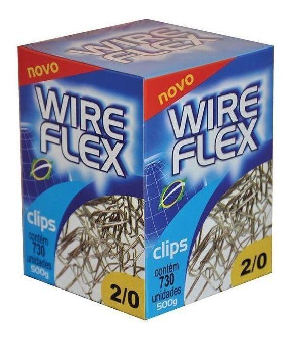 Clips 2/0 Wire Flex Cx. C / 730 Unidades