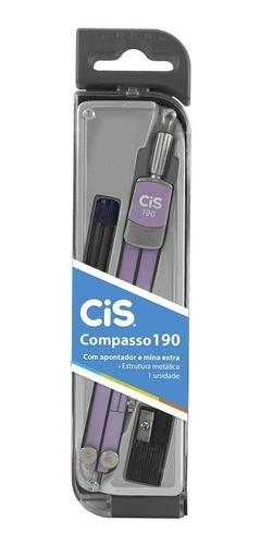 Compasso Metálico Cis 190 + Apontador