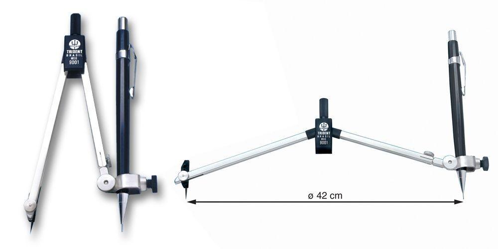 Compasso Trident Mod. 9001 com Articulador Universal
