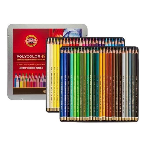 Lápis De Cor Artístico Polycolor 48 Cores Koh-i-noor 3826