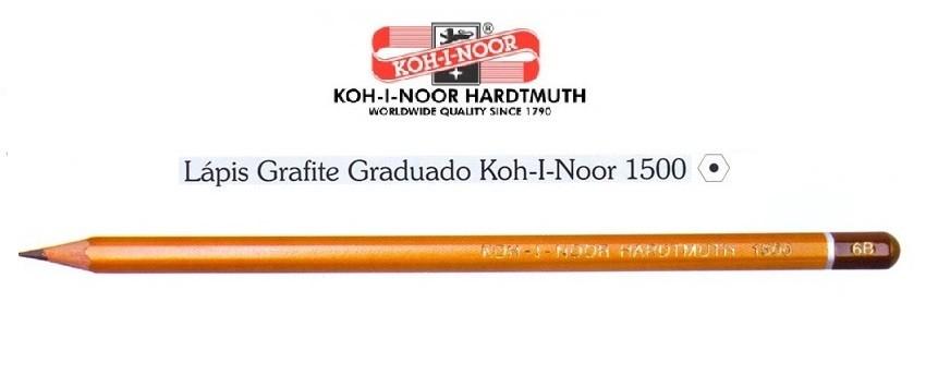 Lápis Grafite para Desenho Graduado 1500 Koh-I-Noor