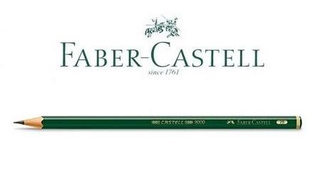 Lápis Grafite para Desenho Graduado 9000 Faber-Castell