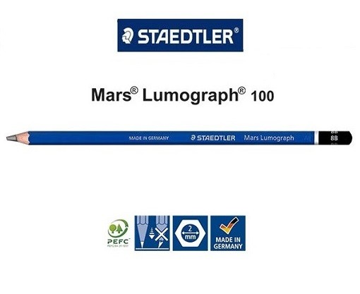 Lápis Staedtler Mars Lumograph Graduado