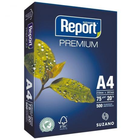 Papel Sulfite Report Premium Branco A4 75g - 500 Folhas