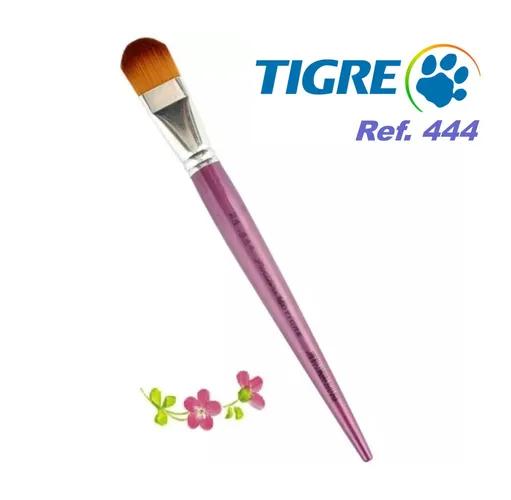Pincel Língua De Gato Tigre Ref. 444 Cerda Sintética